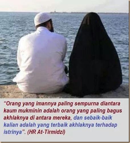 Suami yg baik pada istri dan kel .