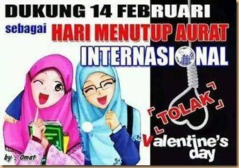 Valentine  hijab