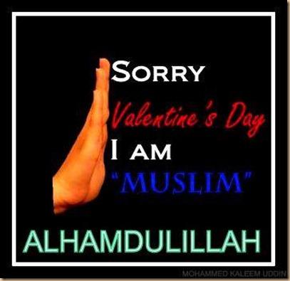 Valentine iam muslim