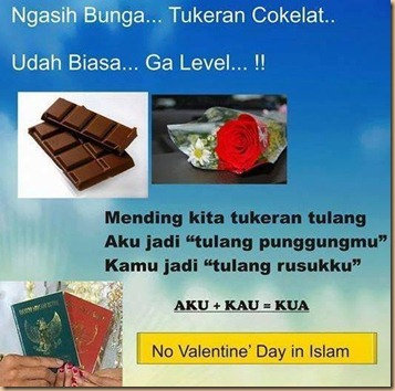 Valentine tukaran