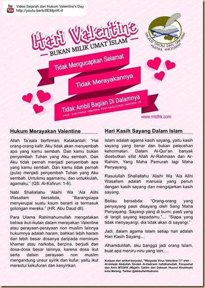 Valentine umat islam