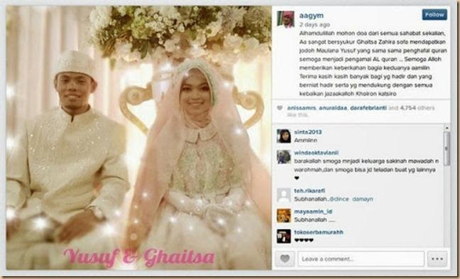 Pernikahan Puteri Aa Gym Blognyafitri Part Ii