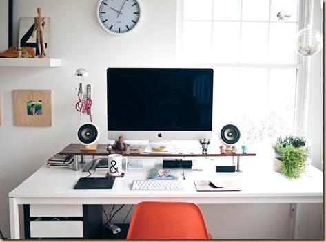 Meja kerja .