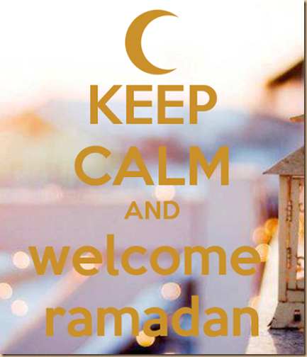 Ramadhan keep calm welcome