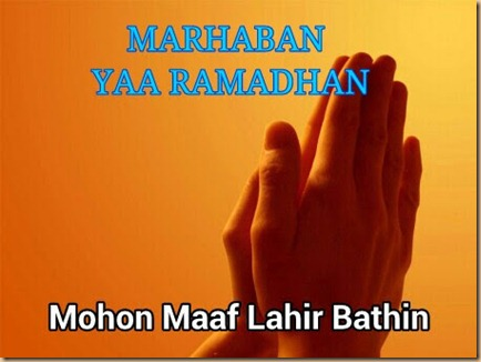 Ramadhan maaf lahir batin G