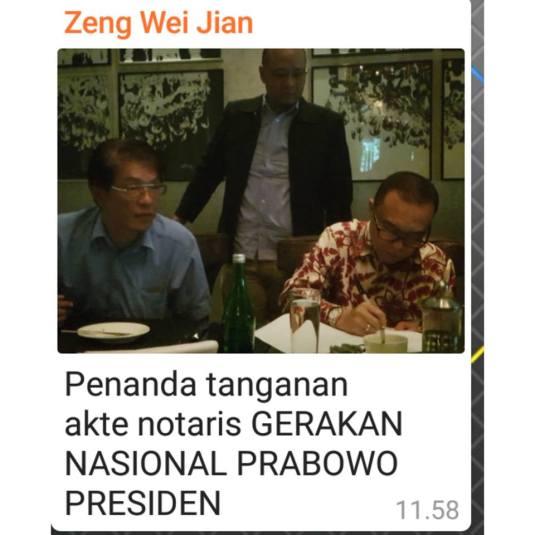 Tagar Prabowo Presiden